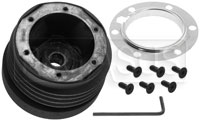 Click for a larger picture of MOMO Steering Wheel Hub Adapter, Honda Civic / CRX 84-87
