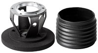 Click for a larger picture of MOMO Steering Wheel Hub Adapter, Honda Civic / CRX 88-91