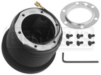 Click for a larger picture of MOMO Steering Wheel Hub Adapter, Stealth / GT3000