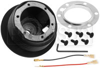 Click for a larger picture of MOMO Steering Wheel Hub Adapter, Mitsubishi Evo 8 / 9