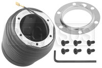 Click for a larger picture of MOMO Steering Wheel Hub Adapter, Porsche 928