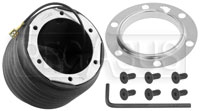 Click for a larger picture of MOMO Steering Wheel Hub Adapter, Porsche/Audi/VW