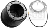 Click for a larger picture of MOMO Steering Wheel Hub Adapter, Porsche 911 (Short)