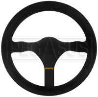 Click for a larger picture of MOMO Model 31 Steering Wheel, Suede, 320mm