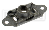 Click for a larger picture of MS21059 Self-Locking Nut Plate, Floating