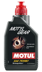 Click for a larger picture of Motul MOTYLGEAR Technosynthese Gearbox Lubricant