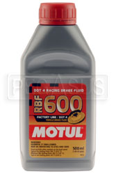 Click for a larger picture of Motul RBF 600 DOT 4 Racing Brake Fluid