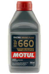 Click for a larger picture of Motul RBF 660 DOT 4 Racing Brake Fluid