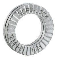 Click for a larger picture of Nord-Lock Small OD Locking Washers, Carbon Steel