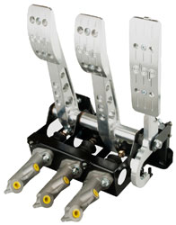 Click for a larger picture of OBP Pro-Race V2 3-Pedal Box, Cockpit Fit, w/ MC