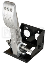 Click for a larger picture of OBP Pro-Race V2 Floor Mount, Bulkhead Fit Single Brake Pedal