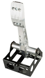 Click for a larger picture of OBP Pro-Race V2 Floor Mount, Cockpit Fit Single Brake Pedal