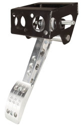 Click for a larger picture of OBP Pro-Race V2 Overhung Mount Single Brake Pedal