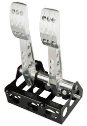 Click for a larger picture of OBP Pro-Race V2 Floor Mount, Cockpit Fit 2-Pedal Box