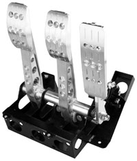 Click for a larger picture of OBP Track Pro V2 3-Pedal Box w/o MC, Universal Fitment