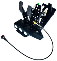 Click for a larger picture of OBP Track-Pro 3-Pedal Box, BMW E46 LHD, w/MC & Bias Cable
