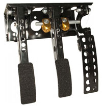 Click for a larger picture of OBP Victory 3-Pedal Box, Firewall Mount, no MC