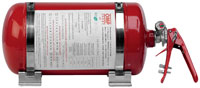 Click for a larger picture of (H) OMP Sport AFFF Fire Suppression System, 4.25L Mechanical