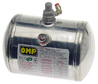 Click for a larger picture of (H) Clearance OMP Replacement Aluminum Bottle, 2.8 E