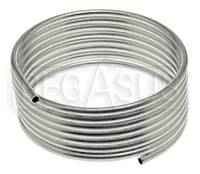 Click for a larger picture of OMP 8mm OD Aluminum Tubing, 4 meter Roll