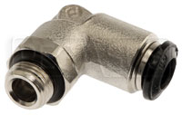 Click for a larger picture of OMP L-Shape Nozzle Connector, 6mm OD Tubing (0.9L/1.3L Only)