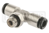 Click for a larger picture of OMP T-Shape Nozzle Connector, 6mm ODTubing (0.9L/1.3L Only)