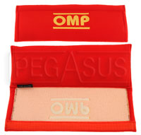 Click for a larger picture of OMP Velour Harness Pads