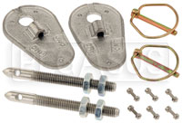Click for a larger picture of OMP Bail-Type Sliding Hood Pins, Steel