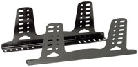 Click for a larger picture of OMP Aluminum Side-Mount Seat Brackets, Tall, FIA