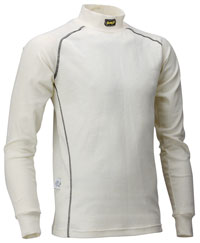 Click for a larger picture of OMP Nomex Underwear Top, Long Sleeve, FIA Approved