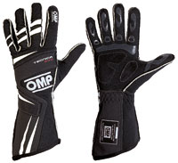 Click for a larger picture of OMP Tecnica Evo Driving Gloves, 2018 FIA 8856-2000
