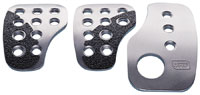 Click for a larger picture of OMP Pedal Pad Set, F1 Style, Antiskid