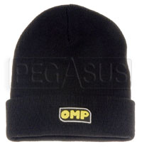 Click for a larger picture of OMP Logo Knit Cap, Black