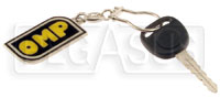 Click for a larger picture of OMP Logo Enamelled Key Chain