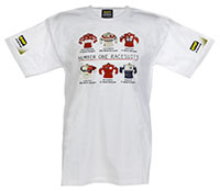 "Click for a larger picture of OMP ""Number 1 Race Suits"" T-Shirt"