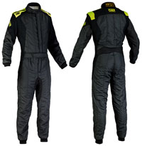 Click for a larger picture of OMP First EVO Driver Suit, 2 Layer Nomex, FIA 8856-2000