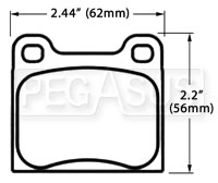 Click for a larger picture of PFC Racing Brake Pad, Alfa, BMW, Porsche, Volvo (D31)