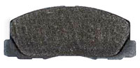 Click for a larger picture of PFC Racing Brake Pad, Dodge Colt Turbo