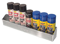 Click for a larger picture of Pit Pal Aerosol Spraycan Shelf  - Holds 8