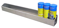 Click for a larger picture of Pit Pal Aerosol Spraycan Shelf  - Holds 12