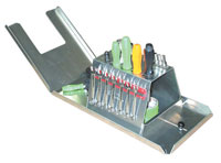 Click for a larger picture of Pit Pal Deluxe Kart Work Top with Tool Rack