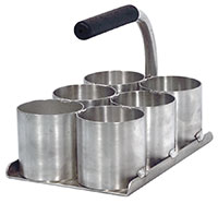 Click for a larger picture of Pit Pal 6-Compartment Hardware Tray