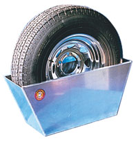 "Click for a larger picture of Pit Pal Spare Tire Holder, Small (up to 27"" diameter tires)"