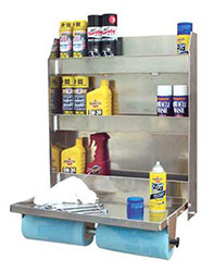Click for a larger picture of Pit Pal Trailer Door Cabinet - Full Size