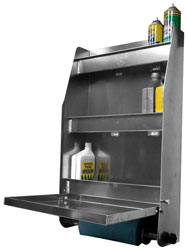 Click for a larger picture of Pit Pal Trailer Door Cabinet - Medium Size