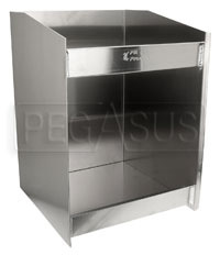 Click for a larger picture of Pit Pal Vertical 2 Bay Helmet Shelf