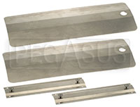 Click for a larger picture of Pit Pal Aluminum Threshold Bridges, pair