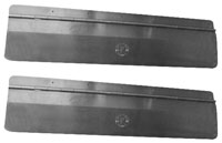 Click for a larger picture of Pit Pal Hinged Threshold Bridges, pair