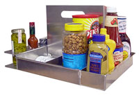 Click for a larger picture of Pit Pal Portable Picnic Caddy