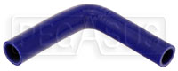 "Click for a larger picture of Blue Silicone Hose, 1"" x  7/8""  Reducing Elbow"